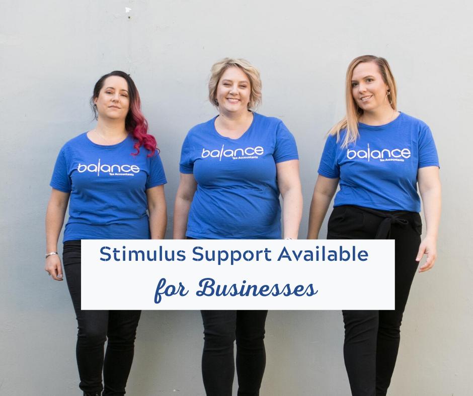 balance tax stimulus package